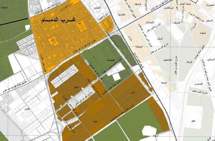 أرض للبيع في شارع 4 ا ، حي المنار ، الدمام ، الدمام