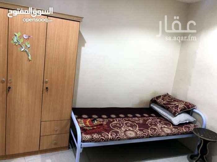 غرفة للإيجار في شارع الوراق ، حي العزيزية ، جدة ، جدة
