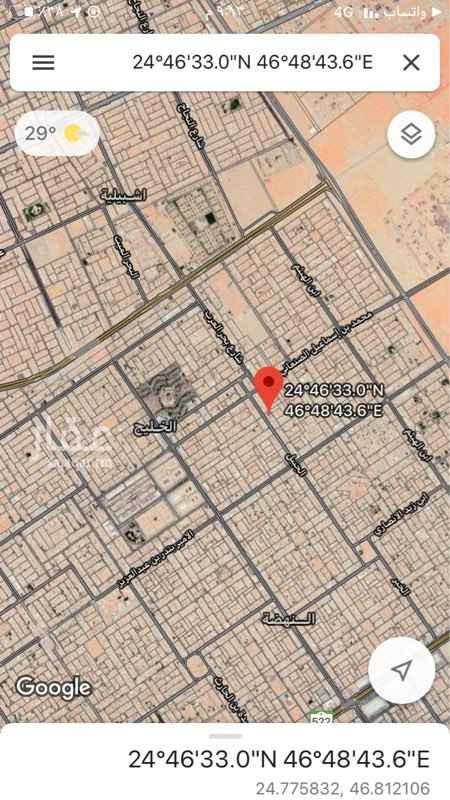أرض للإيجار في شارع الجبيل ، حي الخليج ، الرياض