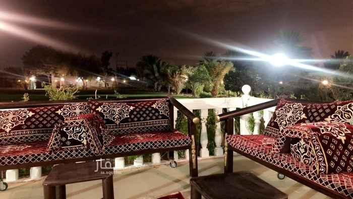استراحة للإيجار في شارع فؤاد الخطيب ، حي الرمال ، الرياض