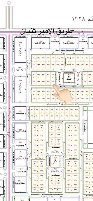 أرض للبيع في حي المستقبل ، المجمعة ، المجمعة