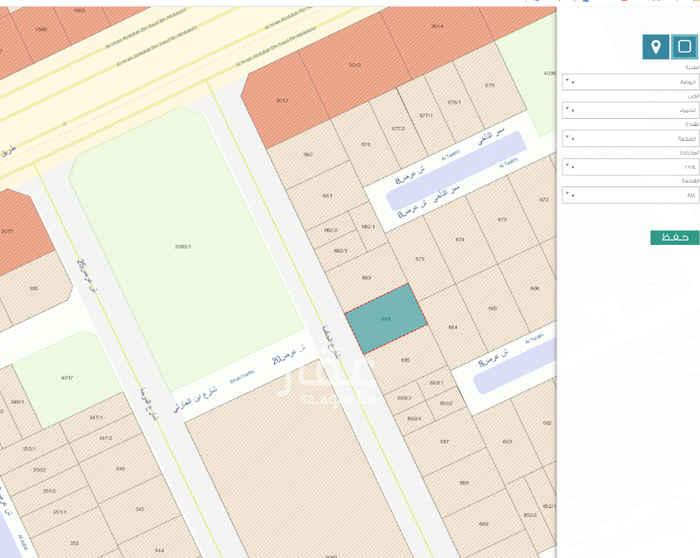 أرض للبيع في شارع الحكمة ، حي الحمراء ، الرياض ، الرياض