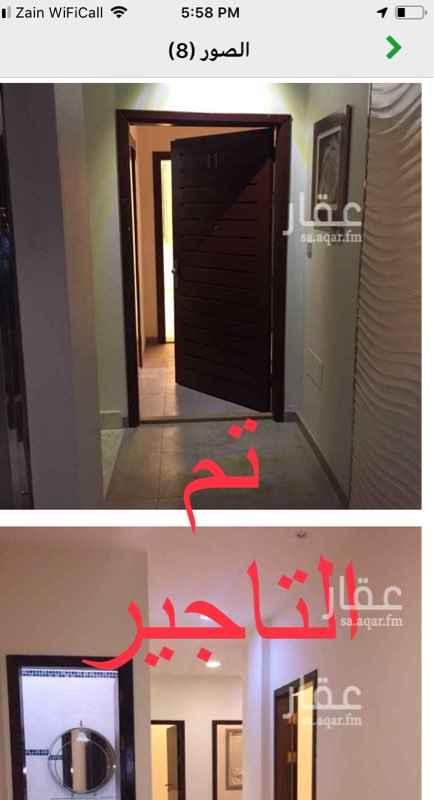 شقة للإيجار في شارع حذيفة بن اليمان ، حي الشاطئ ، جدة