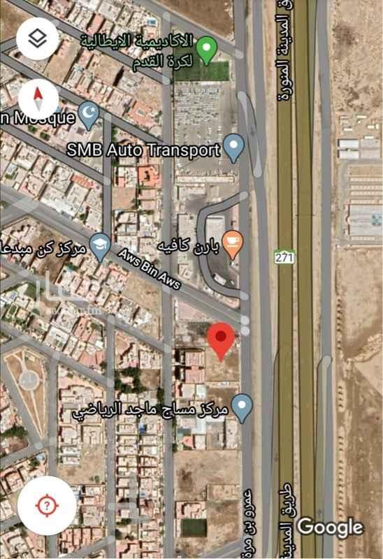 أرض للبيع في طريق المدينة المنورة ، حي ابحر الجنوبية ، جدة ، جدة