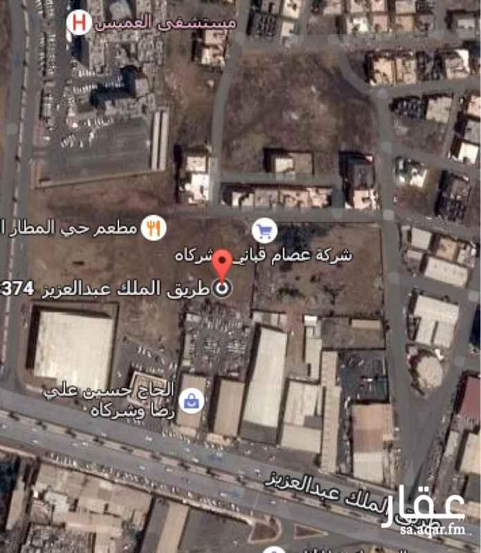 أرض للبيع في طريق الملك عبدالعزيز, المطار, جازان