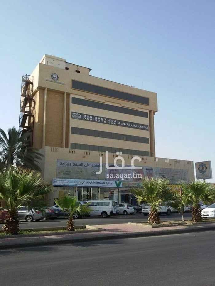 مكتب تجاري للإيجار في شارع القزويني ، حي الهنداوية ، جدة