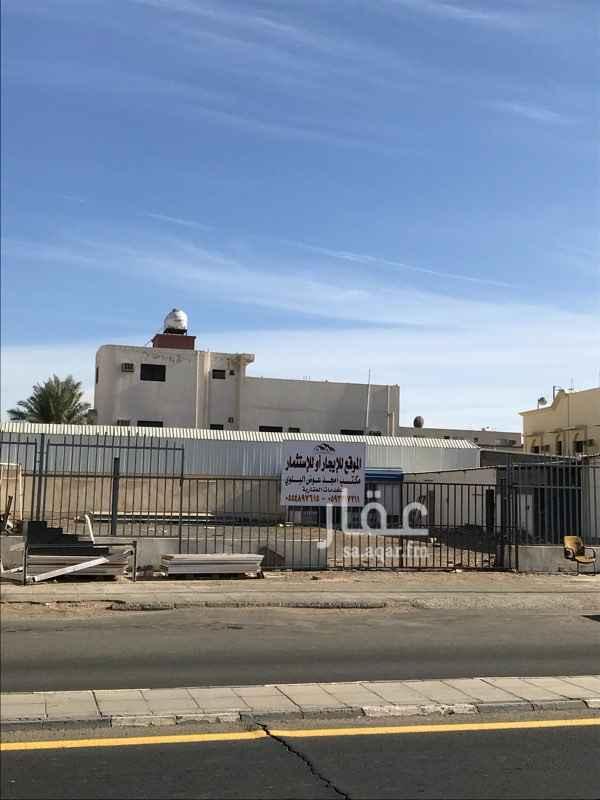 أرض للإيجار في طريق الملك عبدالله بن عبدالعزيز ، حي الفيصلية الشمالية ، تبوك