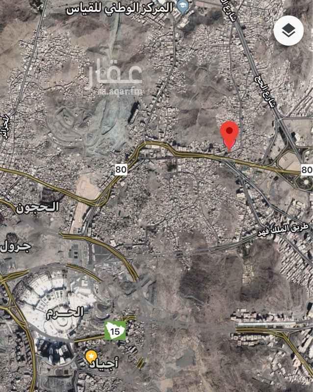 أرض للبيع في شارع الابطح ، حي الخنساء ، مكة