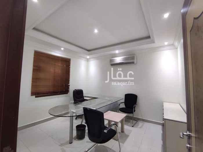 مكتب تجاري للإيجار في حي ، شارع محمد بن الأزهر ، حي العارض ، الرياض ، الرياض