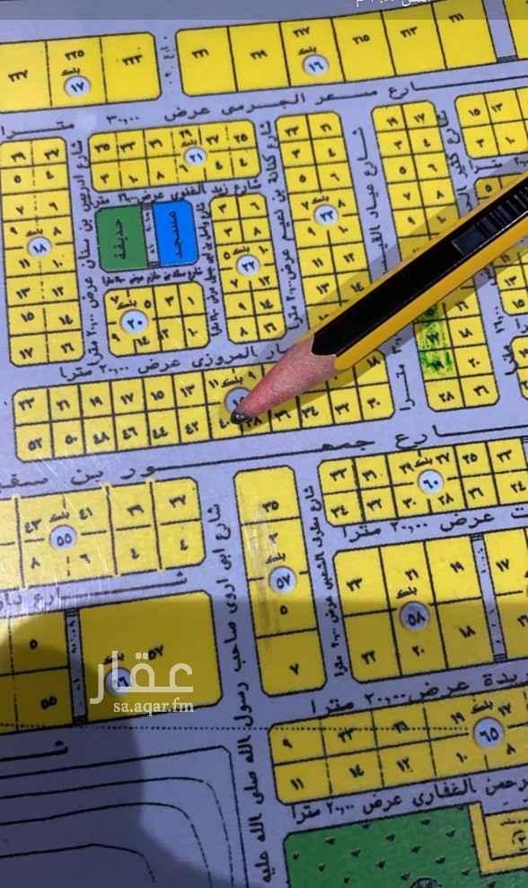 أرض للبيع في شارع عبدالوهاب بن بخت ، حي الجماوات ، المدينة المنورة ، المدينة المنورة