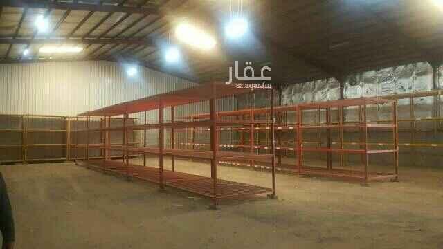 مستودع للإيجار في شارع مليلة ، حي السلي ، الرياض