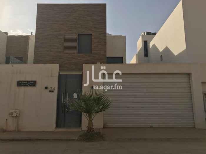 بيت للبيع في شارع وادي الخضارم ، حي الصحافة ، الرياض