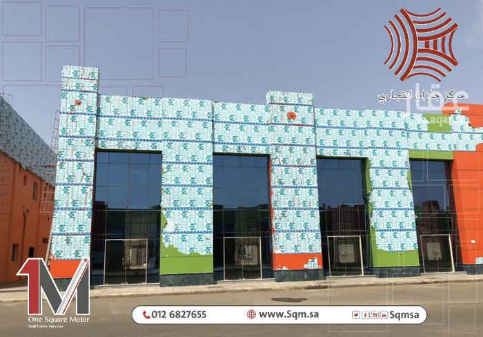 محل للإيجار في طريق الملك عبدالعزيز ، جازان