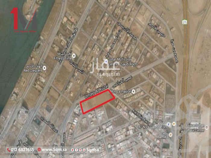 أرض للبيع في شارع هشام بن سليمان ، حي ابحر الجنوبية ، جدة
