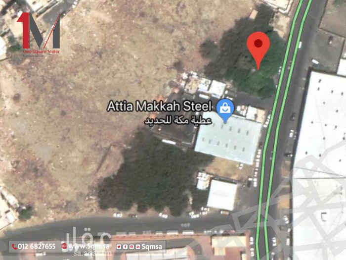 أرض للبيع في حي ريع ذاخر ، مكة ، مكة المكرمة