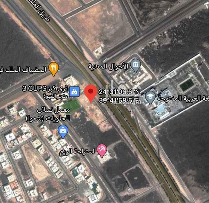 أرض للإيجار في طريق الملك خالد ، حي الملك فهد ، المدينة المنورة ، المدينة المنورة