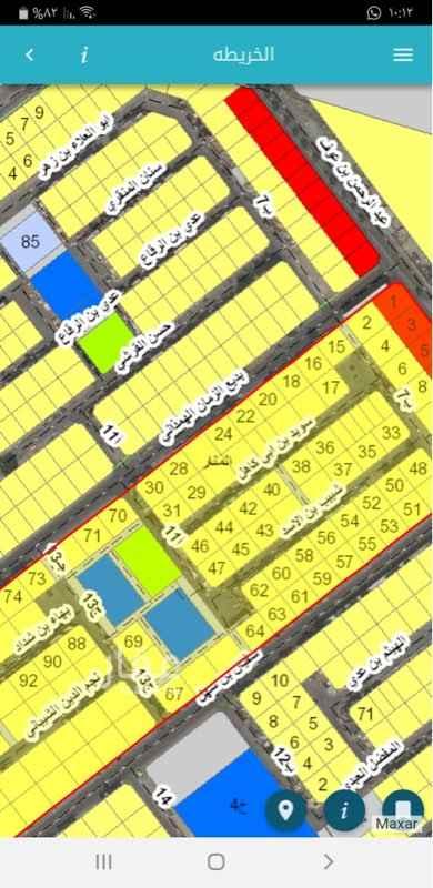 أرض للبيع في شارع اعشى بن مالك ، حي المنار ، الدمام ، الدمام