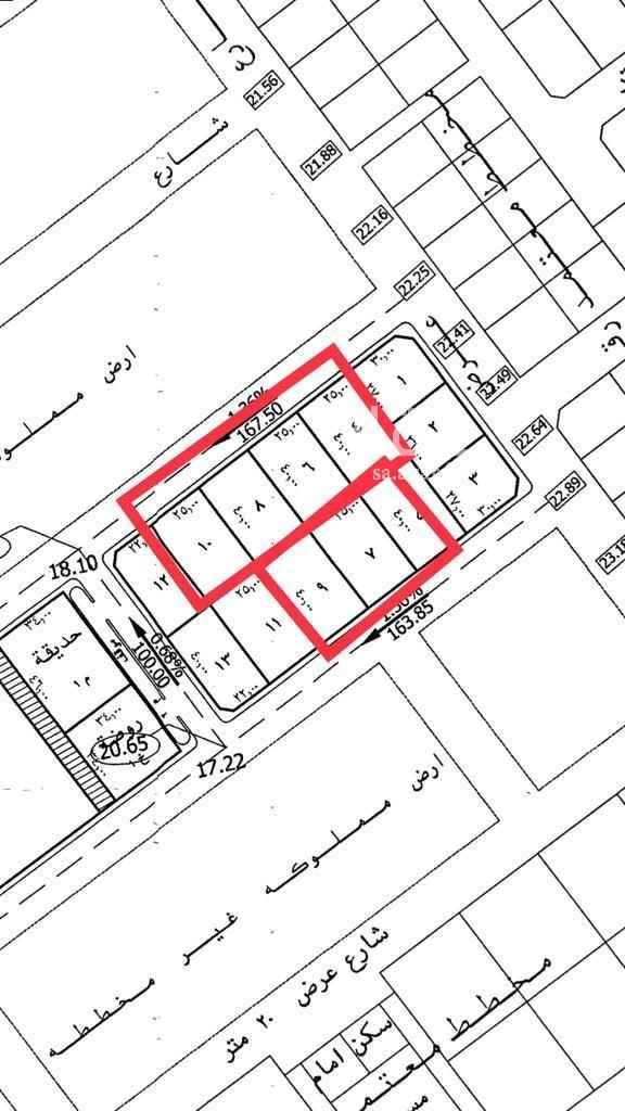أرض للبيع في شارع 27 ج ، حي المنار ، الدمام ، الدمام