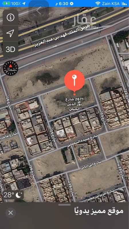 أرض للبيع في شارع مبشر بن عمرو ، حي المنار ، الدمام ، الدمام