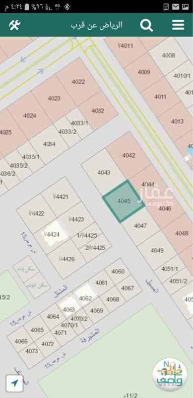 أرض للبيع في شارع المسيل ، حي ظهرة لبن ، الرياض ، الرياض