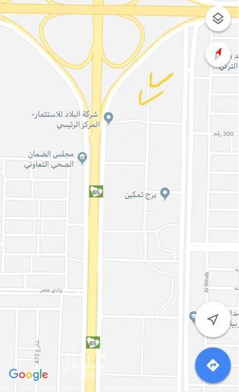 أرض للإيجار في حي الياسمين ، الرياض