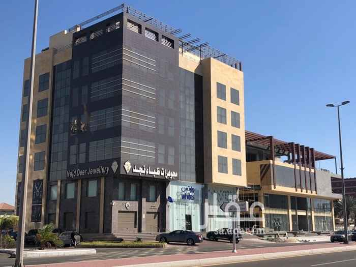 مكتب تجاري للإيجار في شارع الامير سلطان ، حي الروضة ، جدة ، جدة