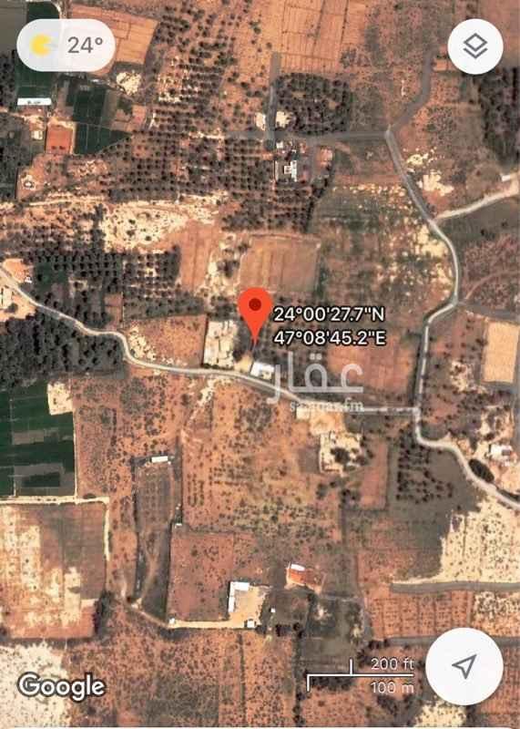 مزرعة للبيع في حي العويمرية ، الدلم