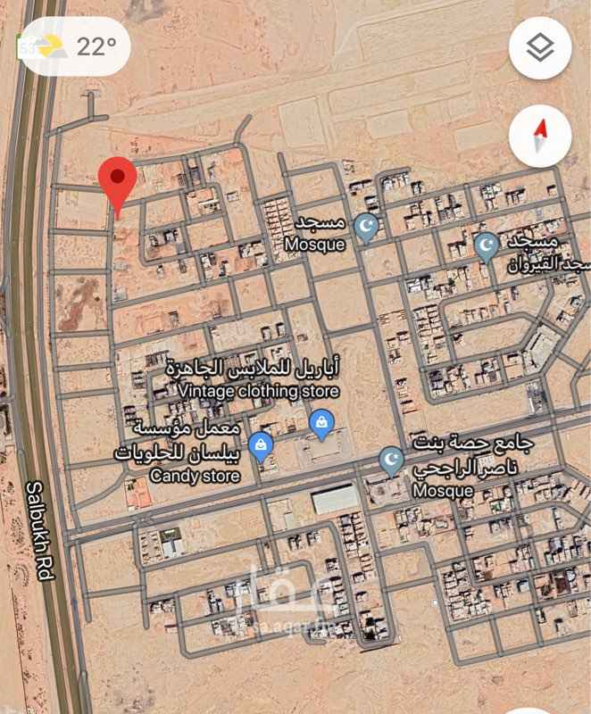 أرض للبيع في طريق صلبوخ ، الرياض