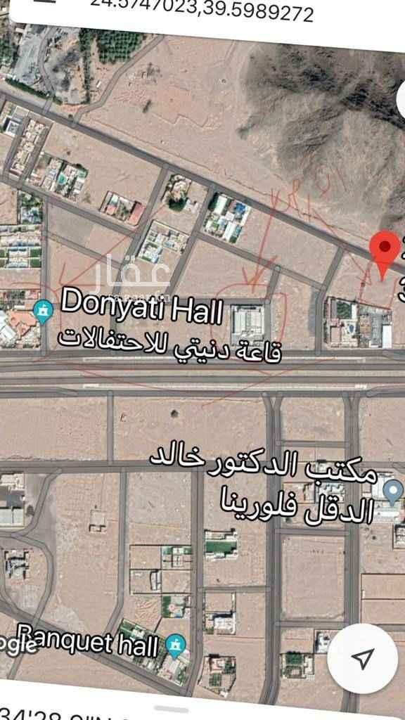 أرض للبيع في شارع بشر بن منصور ، المدينة المنورة ، المدينة المنورة