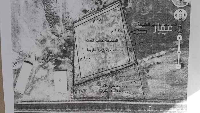 أرض للإيجار في طريق الملك سعود ، الوجه