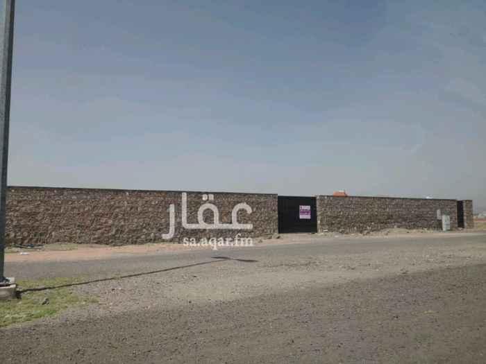 أرض للإيجار في شارع حاجب بن يزيد ، حي الغابة ، المدينة المنورة