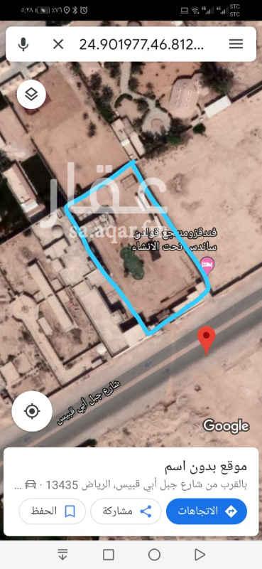استراحة للإيجار في شارع جبل ابي قبيس ، حي الرمال ، الرياض