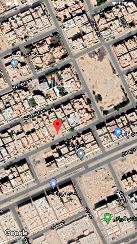 أرض للبيع في شارع الغنامية ، حي الملقا ، الرياض ، الرياض