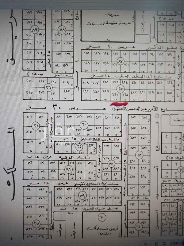 أرض للبيع في شارع الامير عبدالمحسن بن جلوي ، حي المصيف ، الرياض ، الرياض