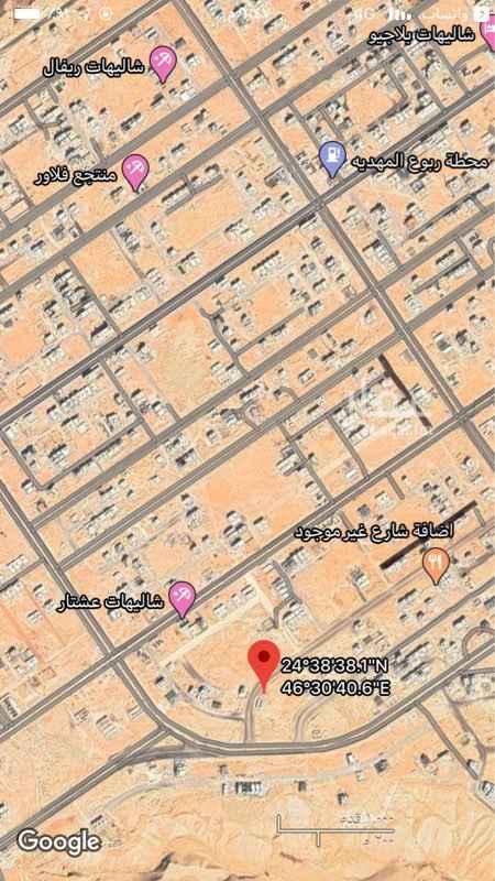 أرض للبيع في شارع عبدالملك بن العباس ، حي المهدية ، الرياض ، الرياض