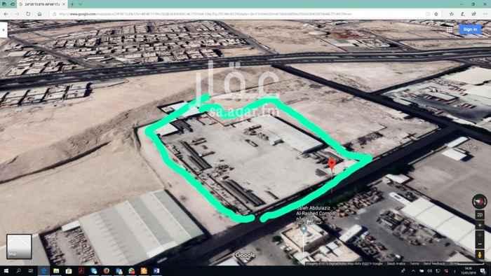 أرض للبيع في شارع ابن قاسم ، حي العزيزية ، الرياض ، الرياض